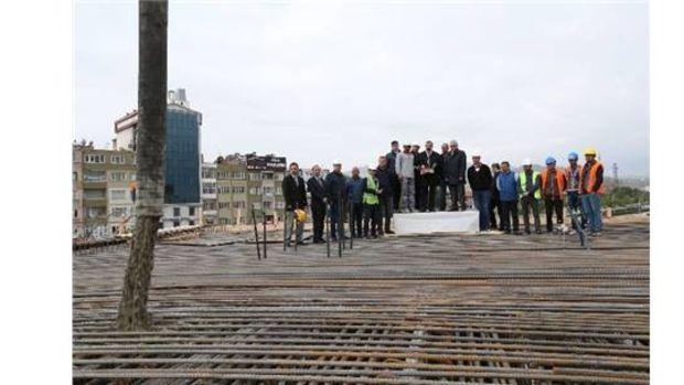 Kayseri Karayolları Kavşağına ilk tabliye betonu atıldı!