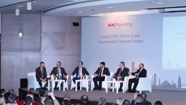 Ak Portföyden yeni bir varlık sınıfı Gayrimenkul Yatırım Fonları!