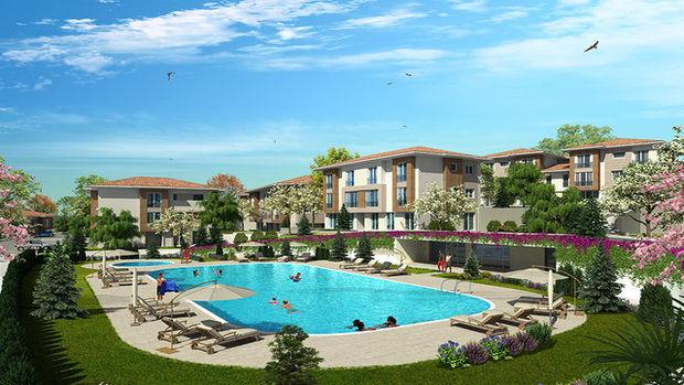 Bahçeşehir Asmalı Bahçeler satılık! 543 bin TL'ye 2+1!
