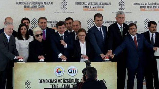 Demokrasi ve Özgürlük Adaları projesinin temeli atıldı!