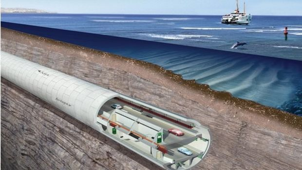 Avrasya Tüneli Projesine EBRDden ödül!