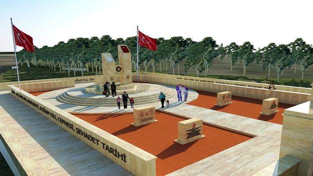 Edirne Askeri Hastanesi Şehitliği projesi tamamlandı!