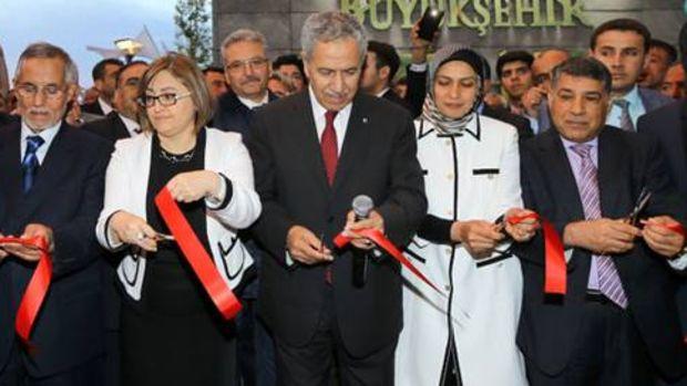Arınç Gaziantep'te park açılışına katıldı!