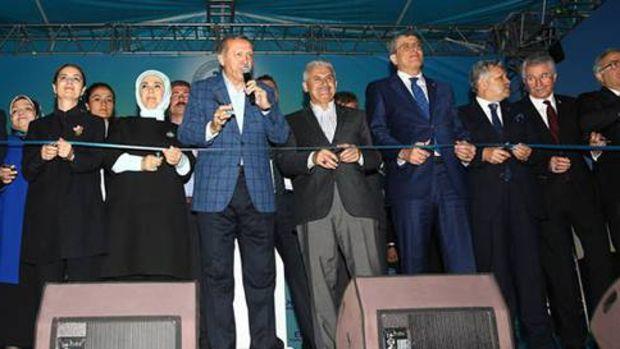 Erzincan'da toplu açılış töreni gerçekleştirildi!