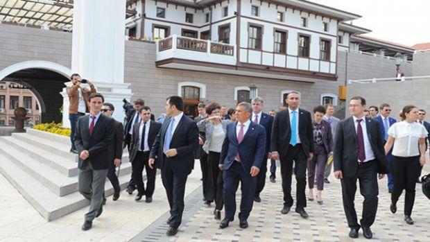 Tataristan Cumhurbaşkanı Minnihanov, İzmirde!