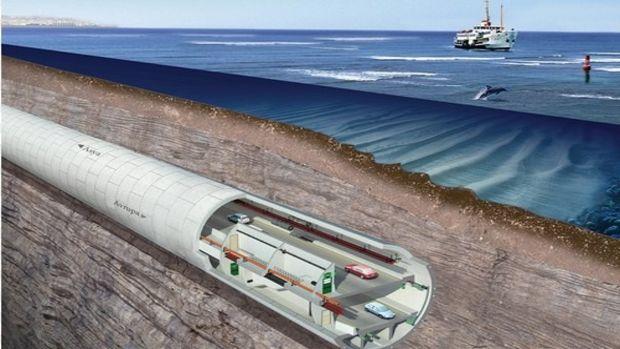 Avrasya Tüneli inşaatında son durum!