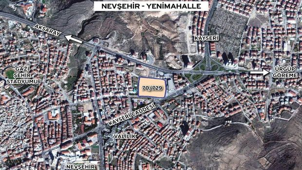 Emlak Konut Nevşehir Yenimahalle arsasını ihaleye çıkarıyor!