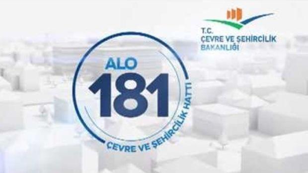Alo 181den vatandaş memnun!
