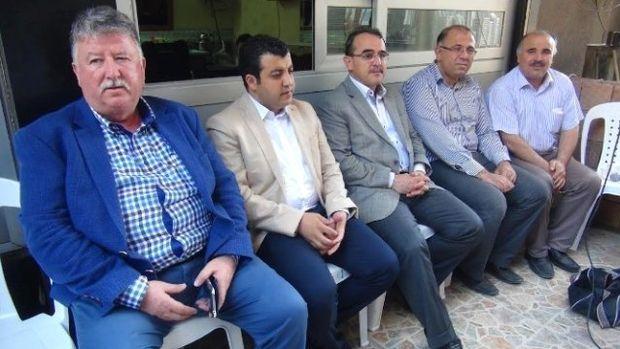 Sadullah Ergin Hatayda ziyaretlerde bulundu!
