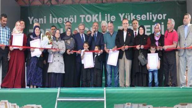 Bakan Müezzinoğlu İnegölde toplu açılış yaptı!