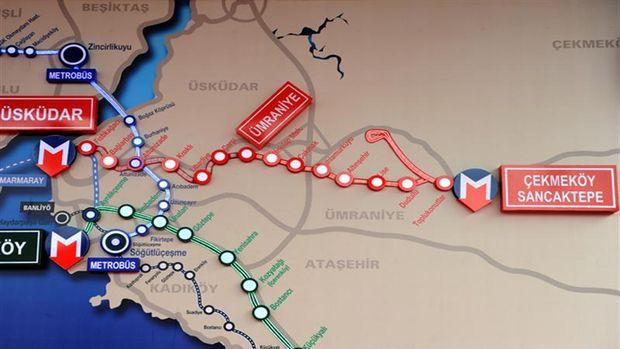 Üsküdar Sancaktepe metrosunda sona yaklaşıldı!