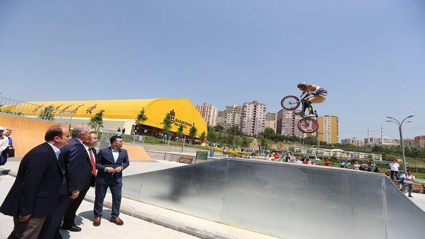 Başakşehir Spor Parkı'nın açılışı yapıldı!