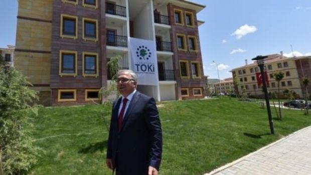 Nevşehirde TOKİnin ilk yerel mimari uygulaması tamamlandı!