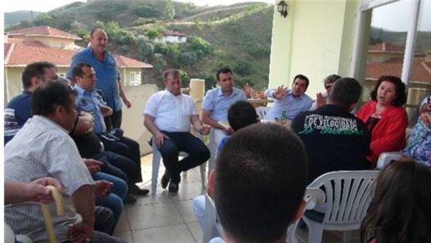 Belediye Başkan Yardımcısı Can, Toki sakinleriyle bir araya geldi!