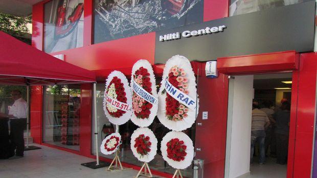 Antalya Hilti Center Antalyalıların yoğun ilgisiyle açıldı!