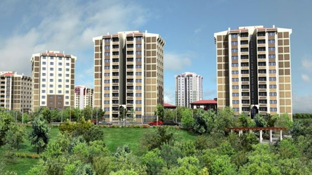 Ankarada bin 96 sosyal konut kura ile sahiplerini buldu!