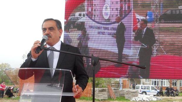 Erzurumda TOKİ konutları temel atma töreni!