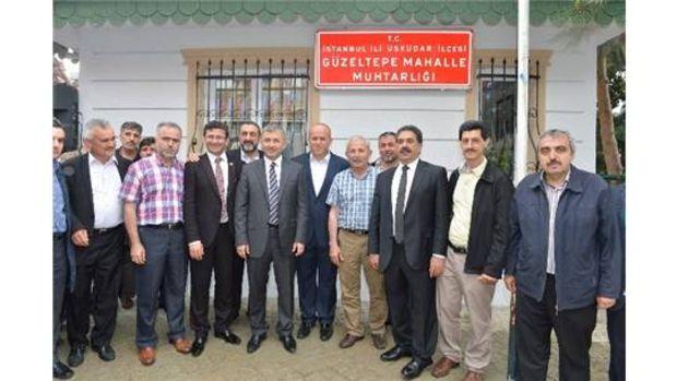 Üsküdarda yeni muhtarlık binaları hizmete başladı!