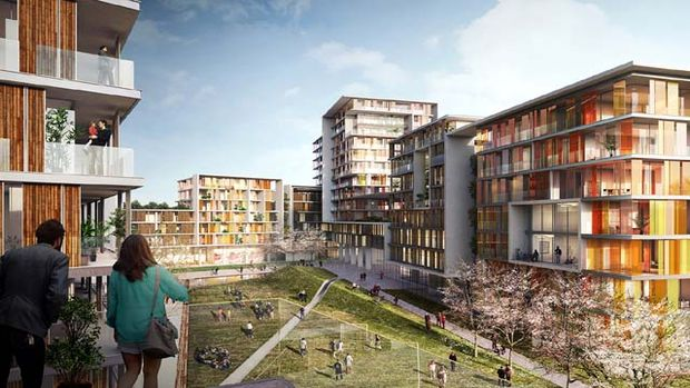 Topkapı'da 10 bin nüfuslu yeni bir kasaba yükseliyor!
