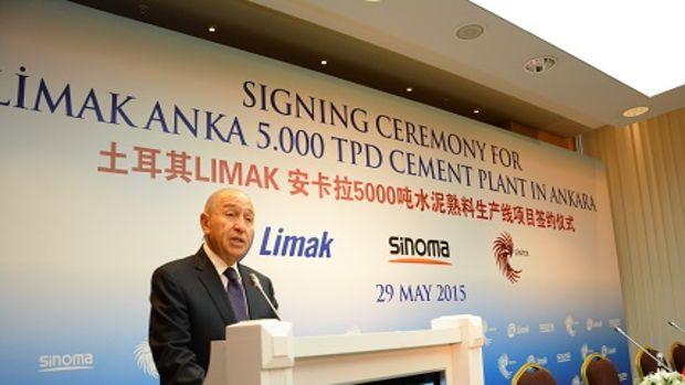Limak, Ankara'daki  Yeni Çimento Yatırımı İçin Çinli Sinoma ile EPC Sözleşmesi İmzaladı!