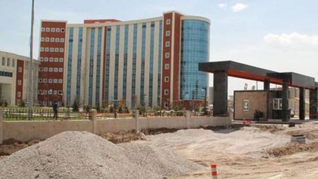 600 yataklı Sivas Bölge Hastanesi'nde sona yaklaşıldı!