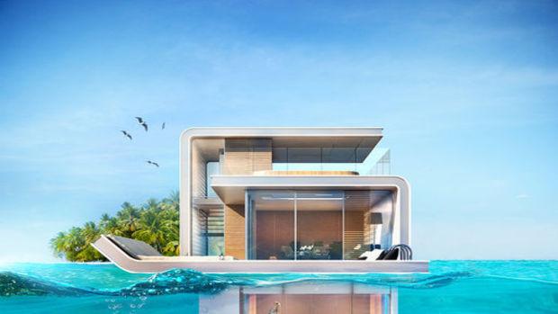İşte Dubainin Son Abartılı Projesi: Yüzen Evler