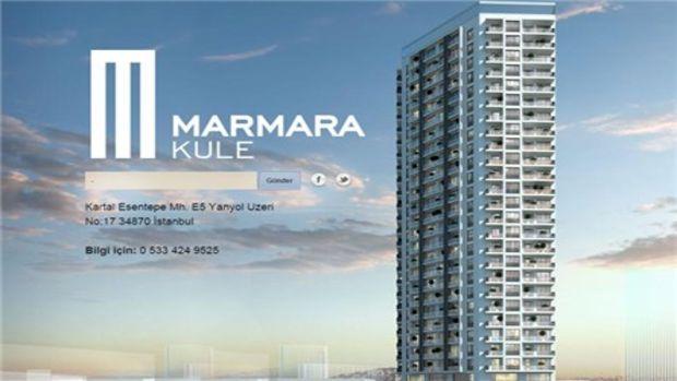 Marmara Kule Kartal satışa çıkmak için gün sayıyor!