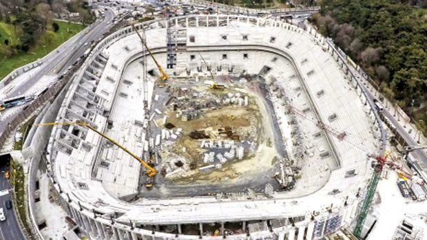 Beşiktaş Vodafone Arena inşaatına şok karar!