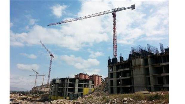 Piri Reis Vadisinde binalar hızla yükseliyor!