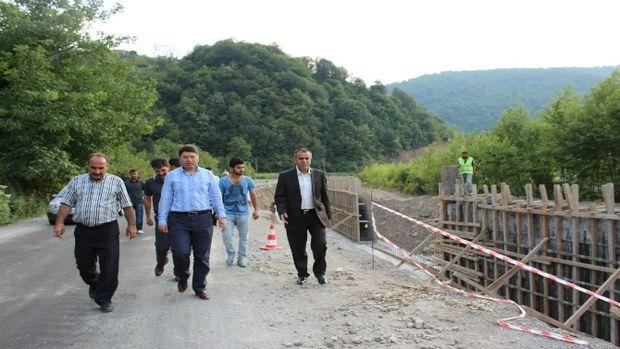 Milletvekili Tunç: Kadıköy, Düzköy Ve Buğurlar köprü ihaleleri 23 Haziranda