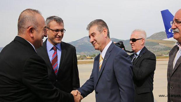 Dışişleri Bakanı Çavuşoğlu Gazipaşa'da!