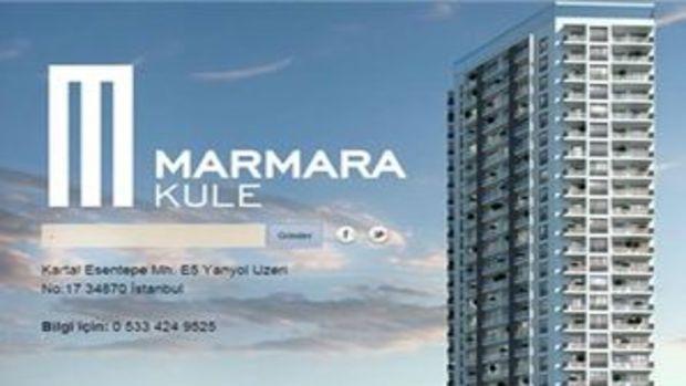 Marmara Kule Kartal Eylül'de resmen satışta!