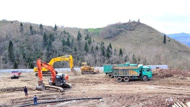 Trabzon Sokak Hayvanları Bakım Merkezi inşaatı devam ediyor!