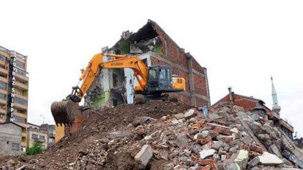 Çömlekçi'de yıkımlar son sürat devam ediyor!
