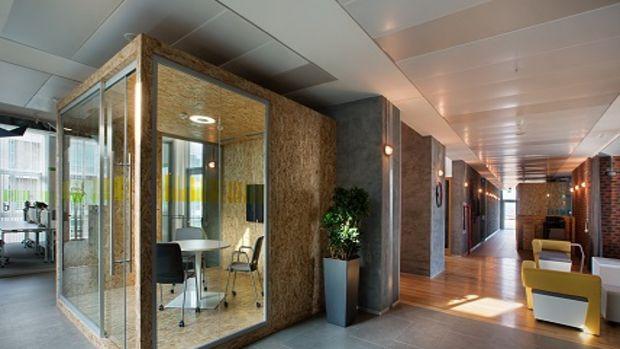 Her gün yeniden biçimlenebilen ofis: Sap Yenileşim Merkezi!