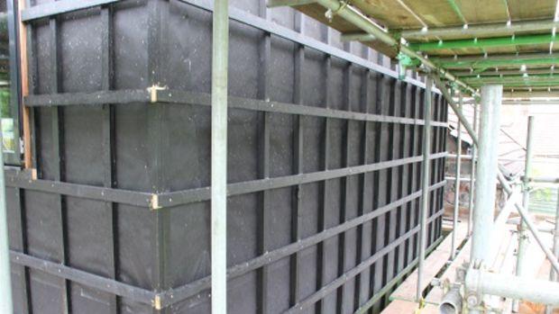 Sürdürülebilir ahşap giydirmeli yeni bir yapıda koruma sağlıyor!