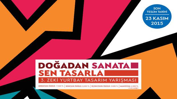 Zeki Yurtbay Tasarım Yarışması başvuruları 2015!