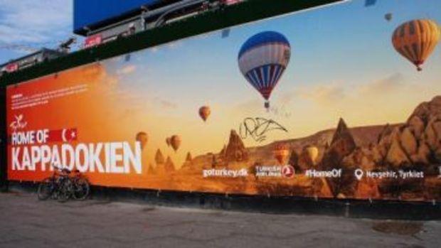 Türkiye dev billboardlarla tanıtılıyor!
