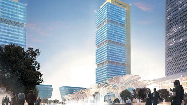 Halk GYO,  İstanbul Finans Merkezi ofis kulelerine  ruhsat aldı!