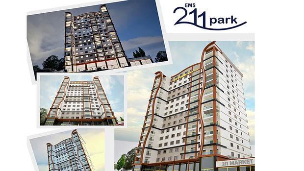 EMS 211 Park Esenyurt 1+1 daireleri 182 bin TL'ye!