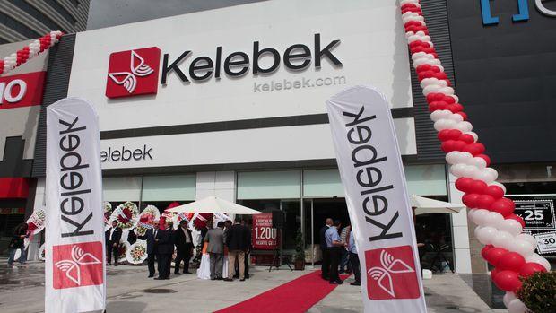 Kelebek'ten Ankara'da mağaza atağı!