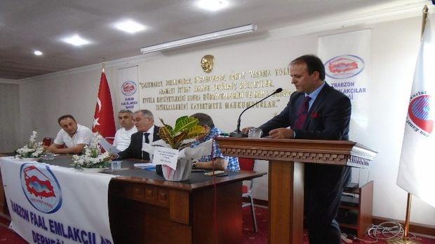 Trabzonda emlakçılar 4. kez Ayhan Taflanla devam dedi!