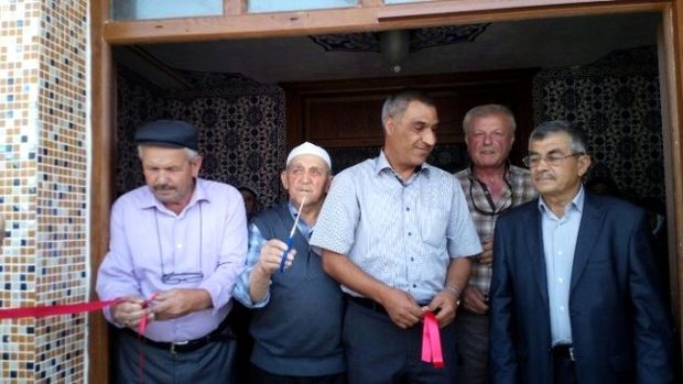 Şadıllı köyüne hayırseverler tarafından cami yaptırıldı!