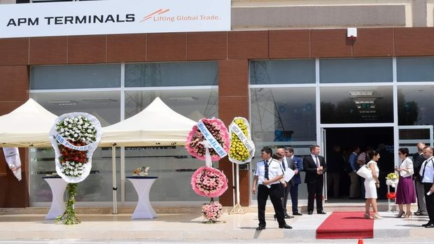 APM hizmet binası açıldı!
