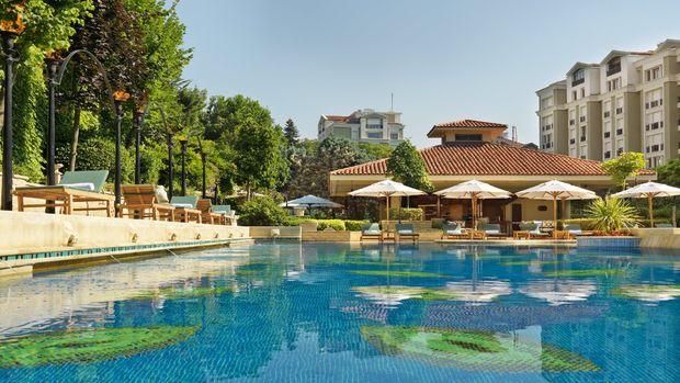 Grand Hyatt İstanbul'da havuz keyfi!