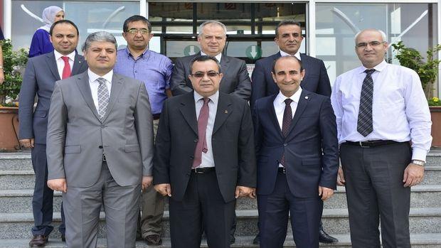 Başkan Edebali, İller Bankası bürokratlarını ağırladı!