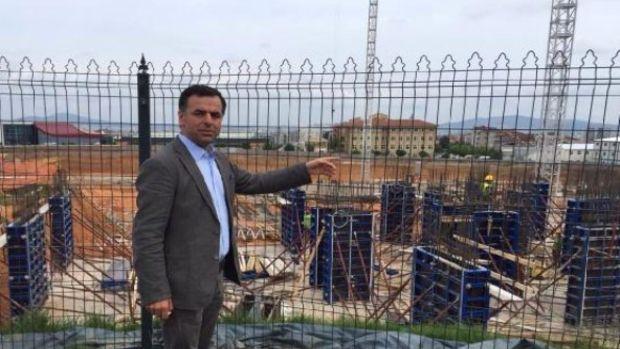 CHPli vekiller hastane arazisine yapılan inşaatın durdurulmasını istedi!