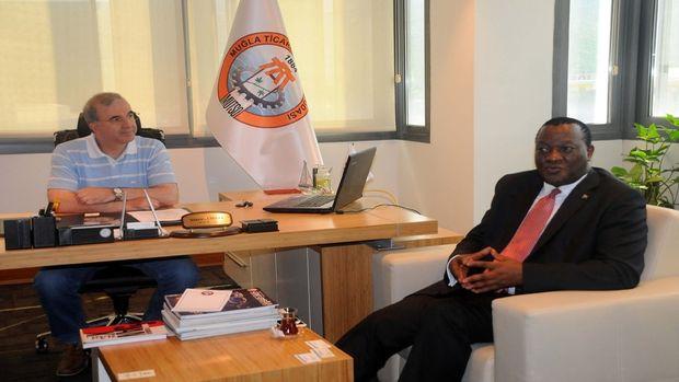 Güney Afrika Cumhuriyeti Ankara Büyükelçisi Khumalo, Muğlada!
