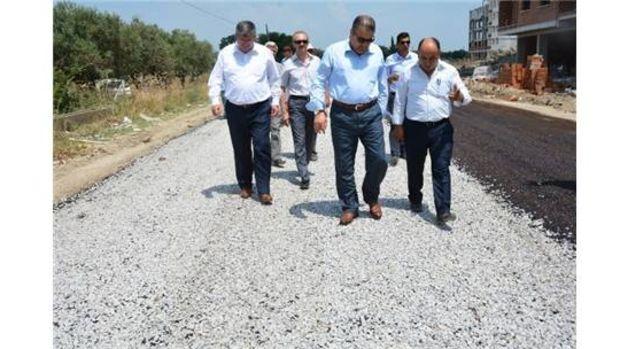 Yunusemre Belediyesi asfalt sezonunu açtı!