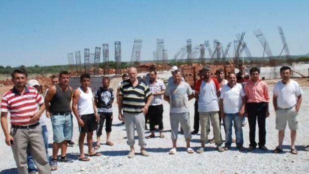 Ankara Üniversitesi inşaatında işçiler eylemde!